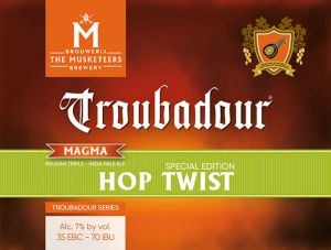 Brouwerij The Musketeers lanceert Magma's Special Edition 2017: Hop Twist