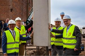 Construction of the largest independent brewery in the Waasland has started